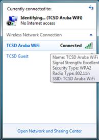 TCSD Aruba Wireless Network - Tate County School District