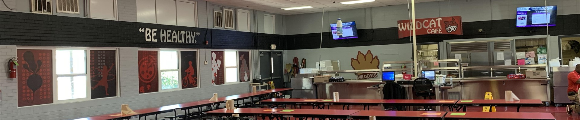 Remodel of the East Tate Cafeteria