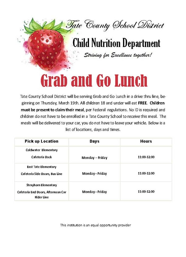 Details about grab and go lunch