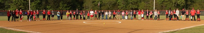 IHS Softball Held Teacher Appreciation